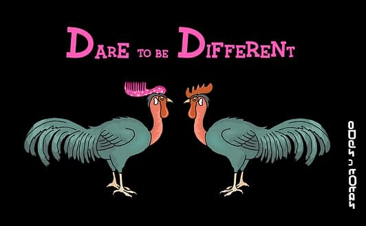 Dare to be different with ODDS N TOTES